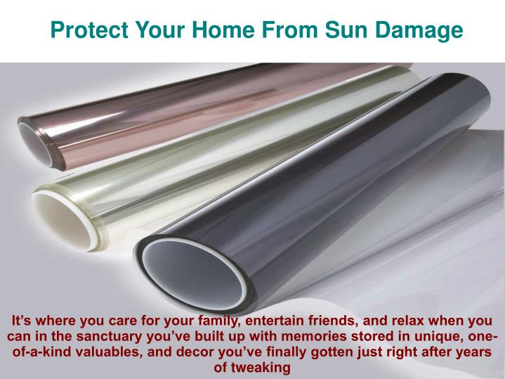 Protect Your Home From Sun Damage