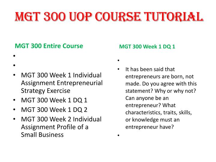 mgt 300 entire course Study ball state university management 300 flashcards and notes conquer your course and sign up for free today.