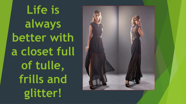 life is always better with a closet full of tulle frills and glitter n.