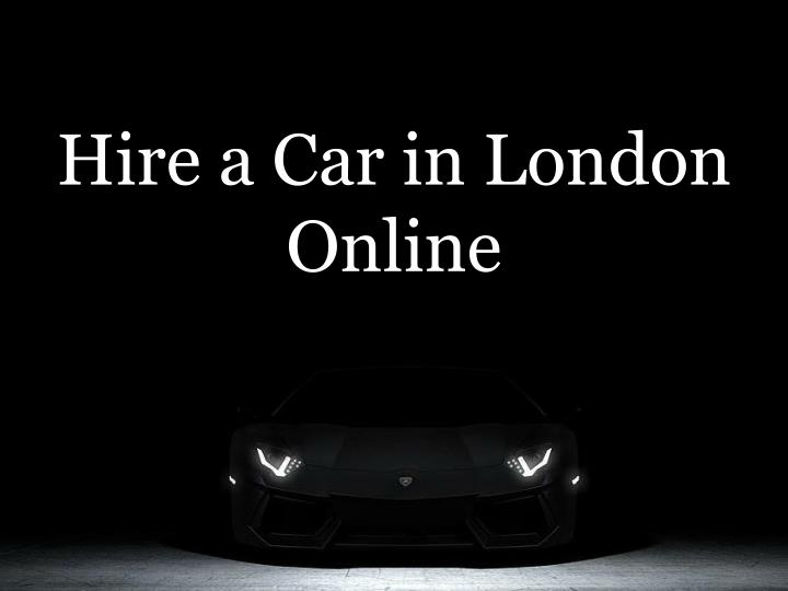 hire a car in london online n.