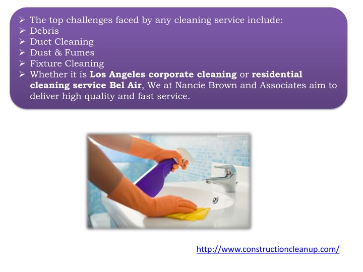 The top challenges faced by any cleaning service include: