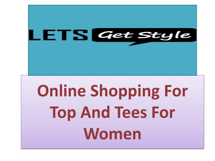 online shopping for top and tees for women n.