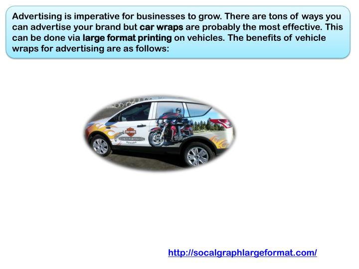 Advertising is imperative for businesses to grow. There are tons of ways you can advertise your bran...