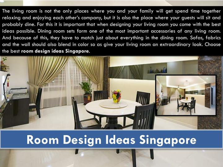Room Design Ideas Singapore