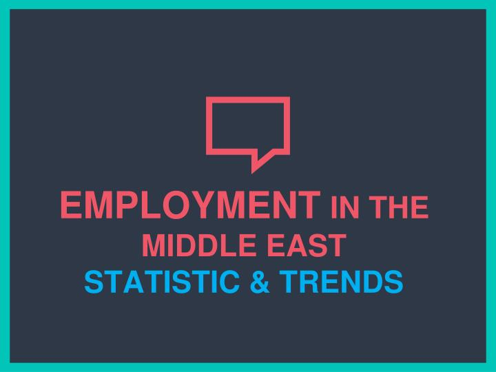 employment in the middle east statistic trends n.
