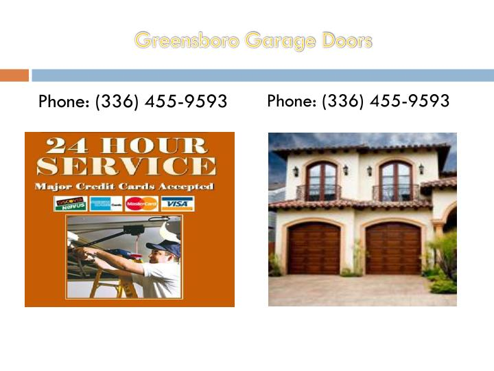 Ppt Garage Door Opener Greensboro Powerpoint