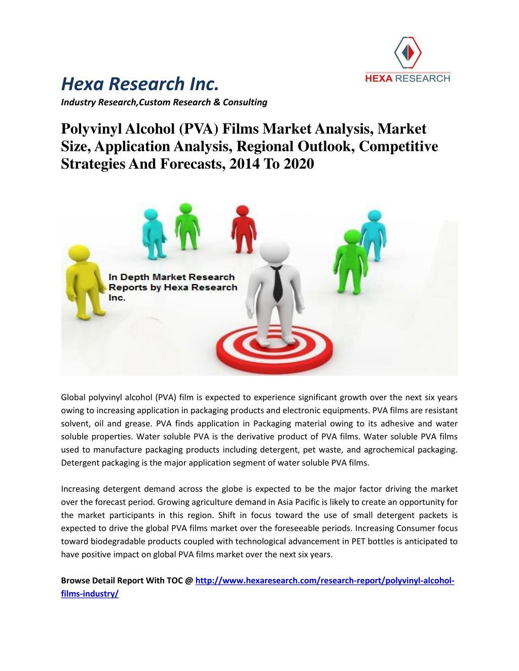 PPT - Polyvinyl Alcohol (PVA) Films Market Analysis, Market