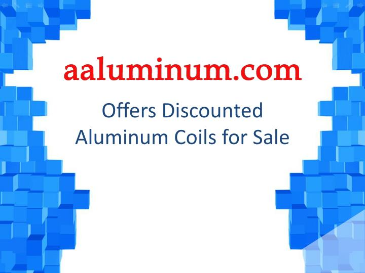 offers discounted aluminum coils for sale n.