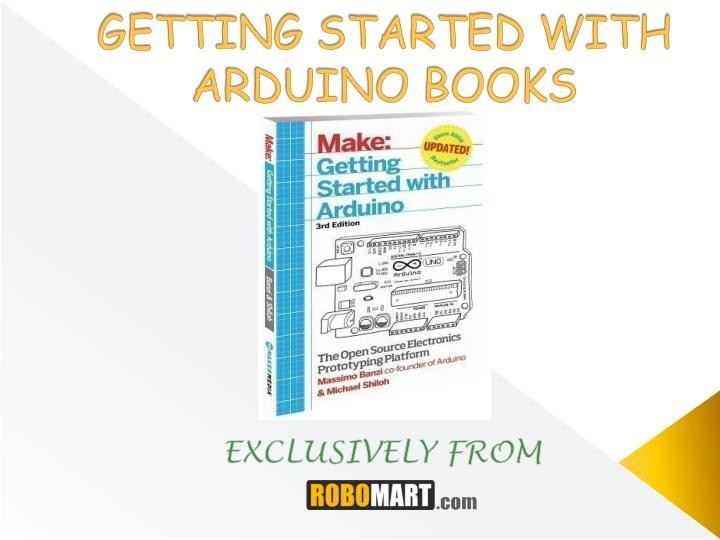 getting started with arduino books n.