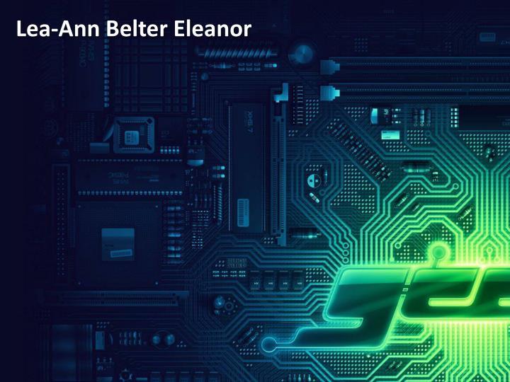 Lea-Ann Belter Eleanor