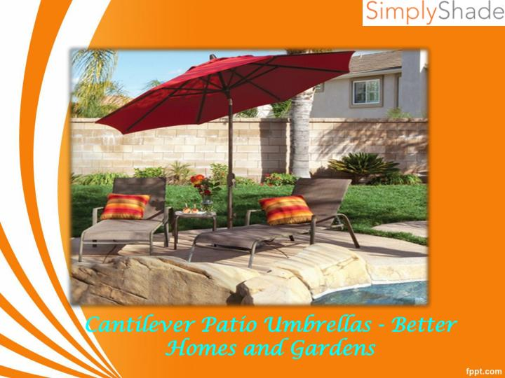 cantilever patio umbrellas better homes and gardens n.