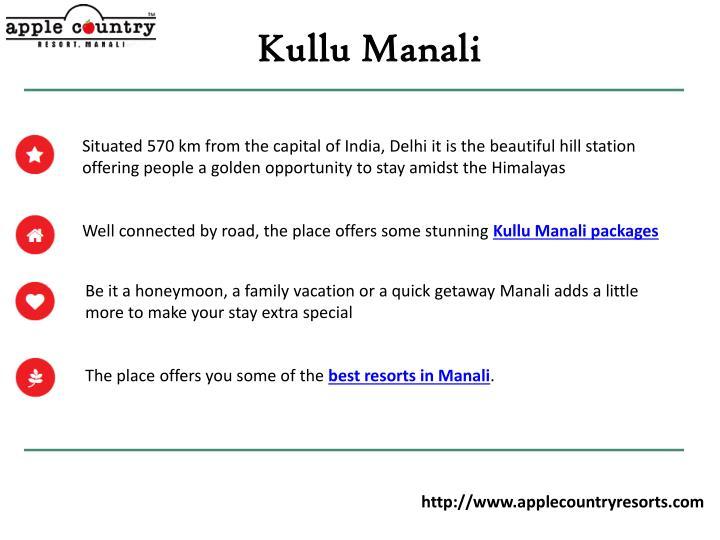Kullu Manali