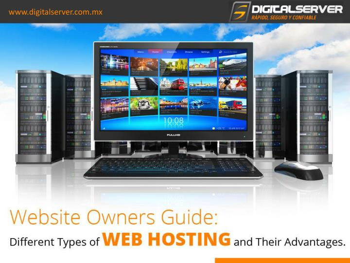 website owners guide different types of web hosting and their advantages n.