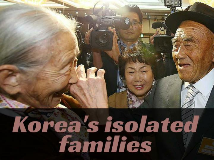 korea s divided families n.