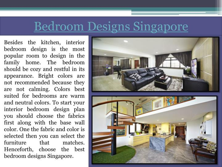 Bedroom designs singapore
