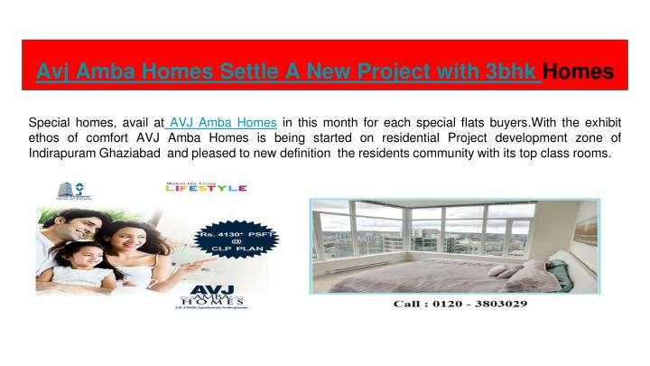 avj amba homes settle a new project with 3bhk homes n.