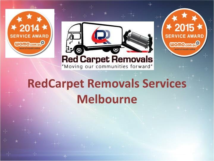 redcarpet removals services melbourne n.