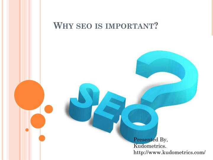 why seo is important n.