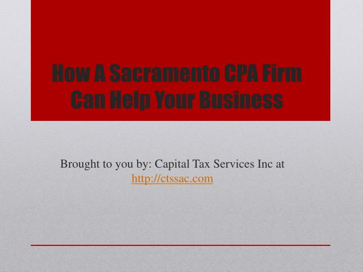 how a sacramento cpa firm can help your business n.