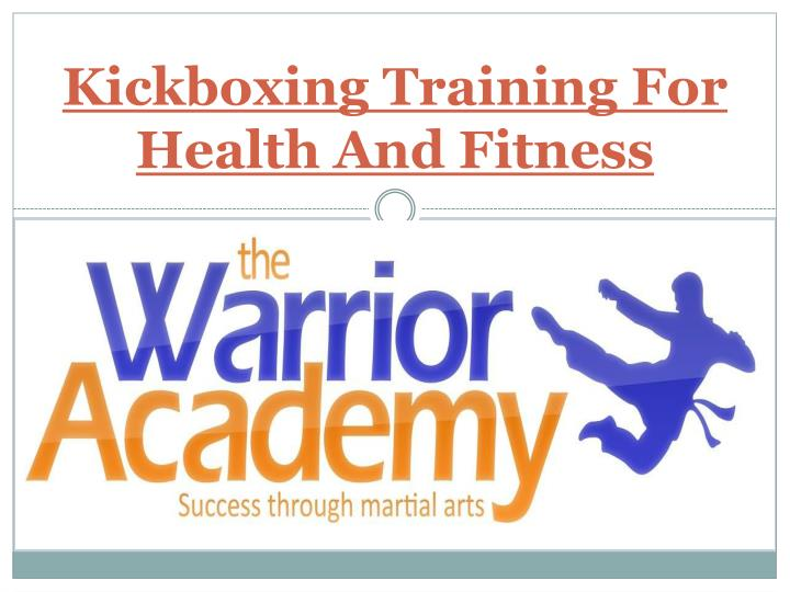 kickboxing training for health and fitness n.