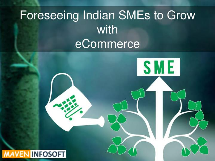 foreseeing indian smes to grow with ecommerce n.