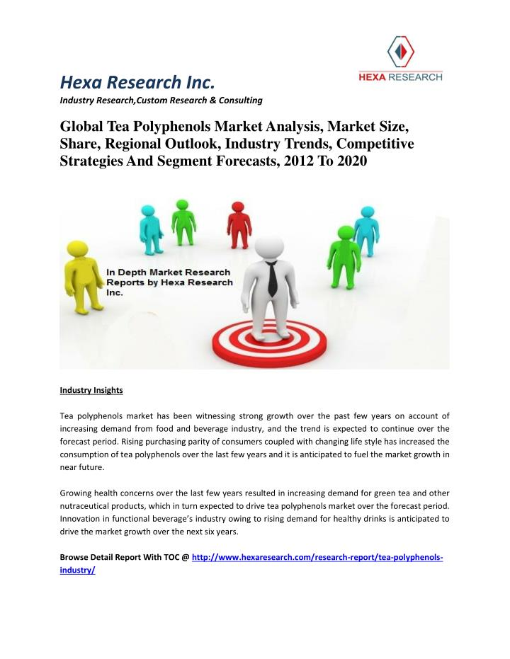 Beverage Industry Trends 2020.Ppt Global Tea Polyphenols Market Analysis Market Size