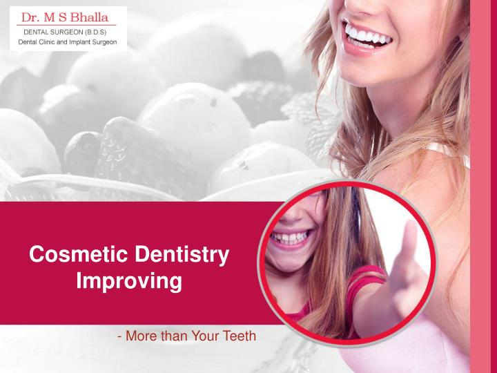 cosmetic dentistry improving n.