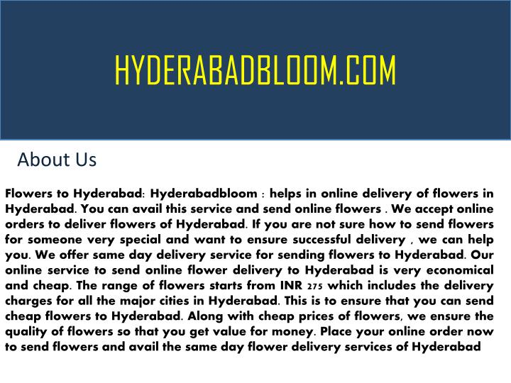 hyderabadbloom com n.