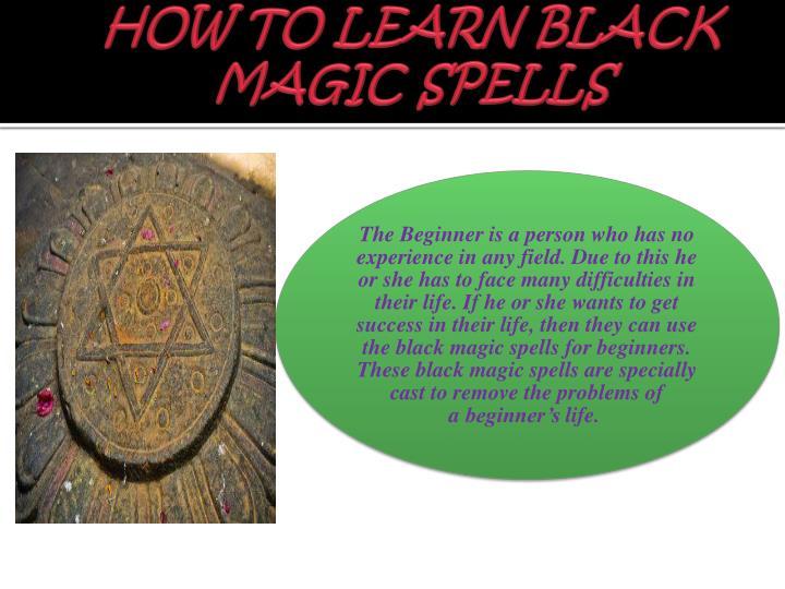 Learn Black Magic 44