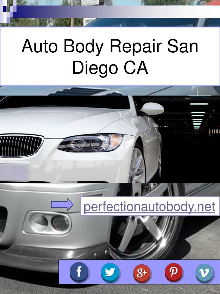 Auto Body Repair San Diego CA