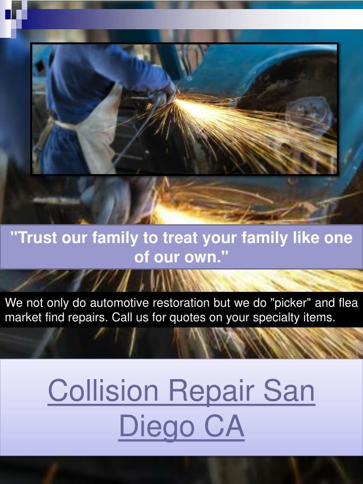Collision Repair San Diego CA