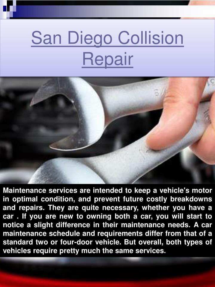 San Diego Collision Repair