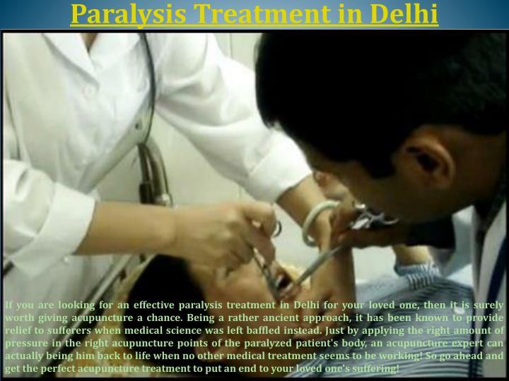 Paralysis treatment in delhi