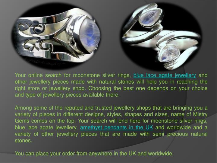 Your online search for moonstone silver rings,