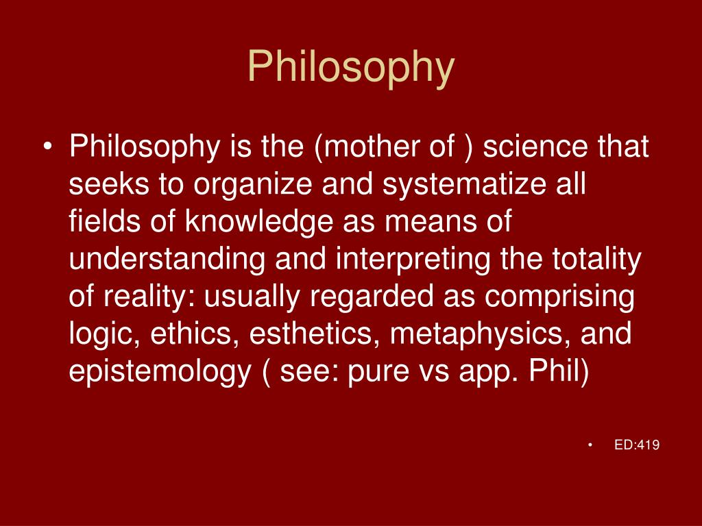 PPT - Philosphy PowerPoint Presentation, free download ...