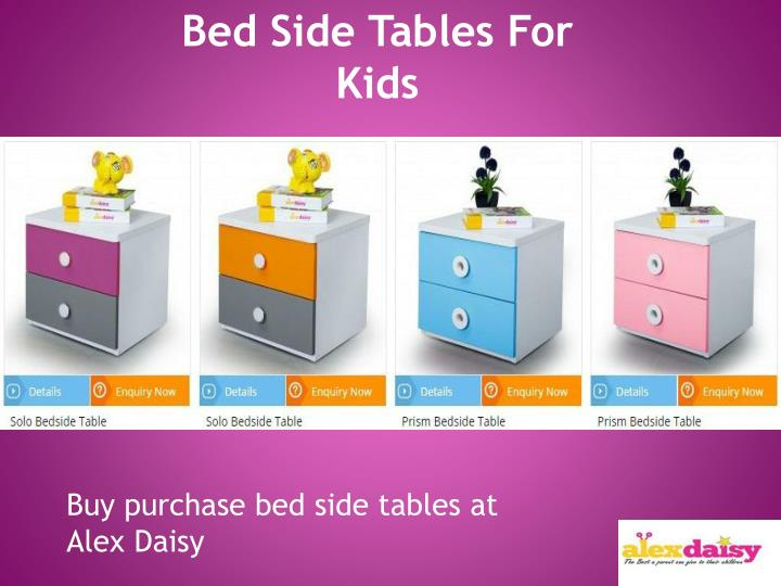 Bed Side Tables For Kids