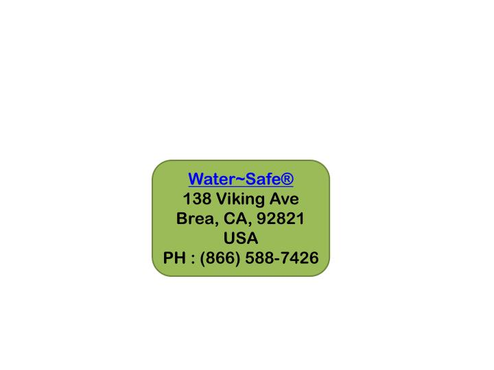 Water~Safe