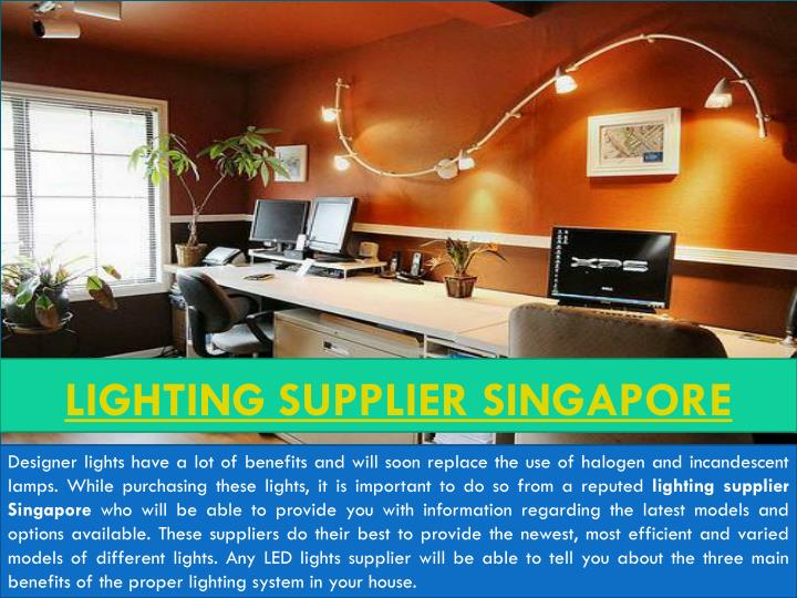 lighting supplier singapore n.