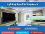 lighting supplier singapore1
