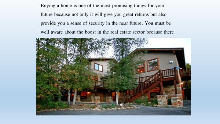 Buying a home is one of the most promising things for your future because not only it will give you ...
