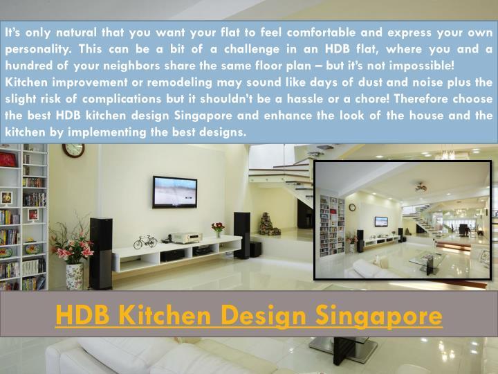 HDB Kitchen Design Singapore