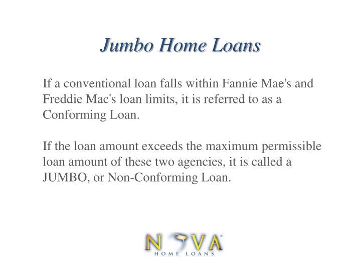 Jumbo home loans1