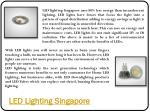 led lighting singapore