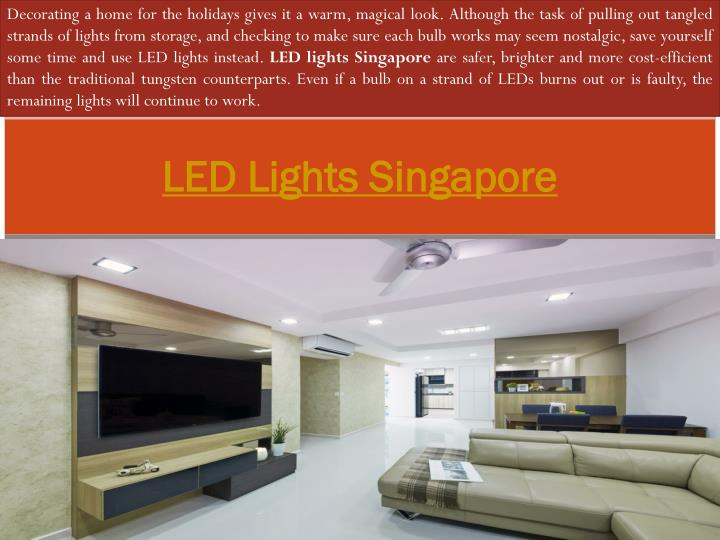 led lights singapore n.