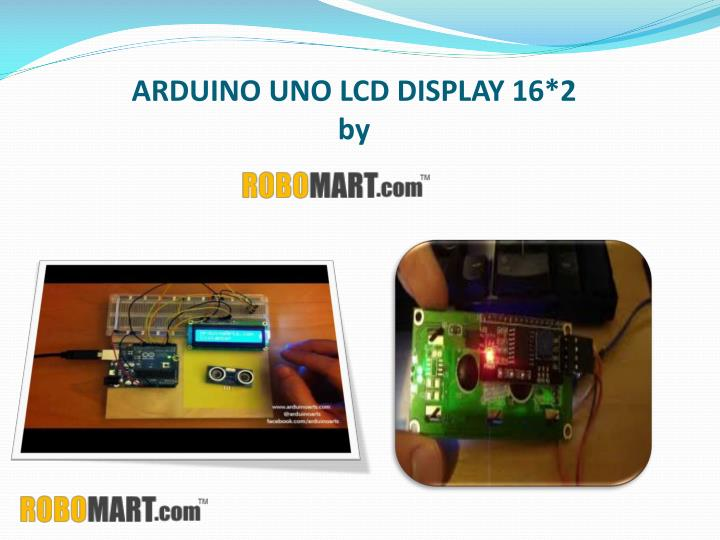 arduino uno lcd display 16 2 by n.