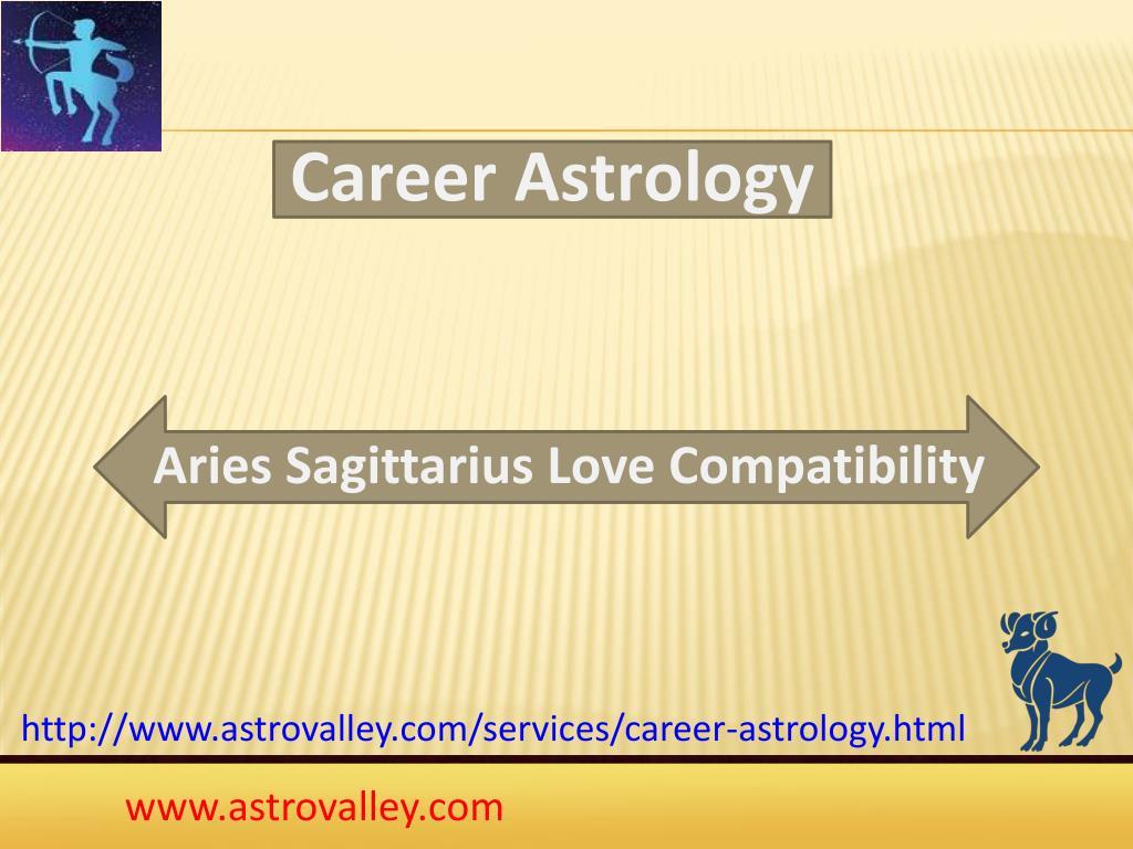 PPT - Aries Sagittarius Love Compatibility PowerPoint Presentation
