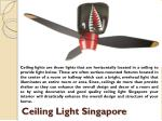 ceiling light singapore