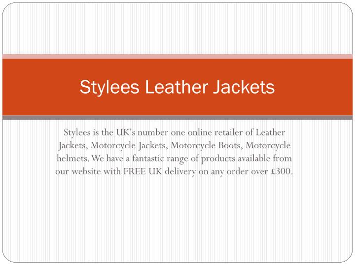 stylees leather jackets n.