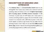 description of arduino uno atmega328