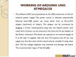 working of arduino uno atmega328